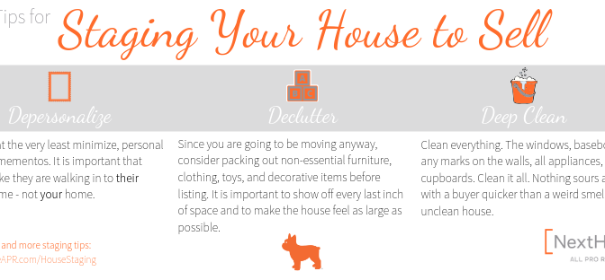House Staging Top 3 Tips Blog Banner